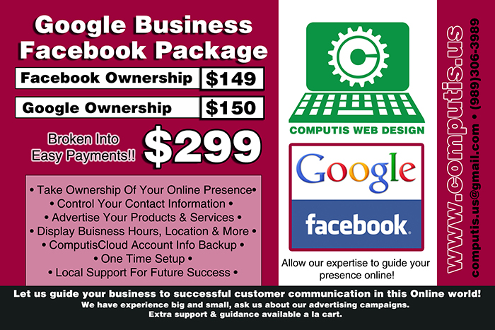 Own your facebook and google listings